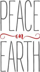 Farmhouse Peace On Earth print art