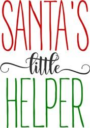 Farmers Santas Little Helper print art