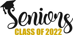 Seniors Class Of 2022 print art