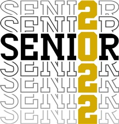 Stacked Senior 2022 print art