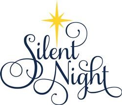 Decorative Silent Night print art