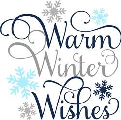 Warm Winter Wishes print art
