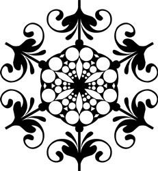 Victorian Mandala print art