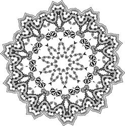 Beautiful Mandala print art