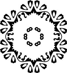 Simple Mandala print art