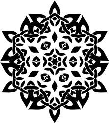 Mandala print art