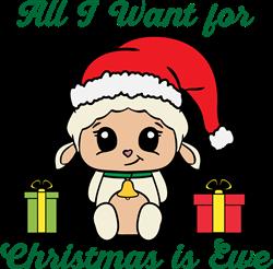 Want For Christmas print art