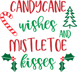 Candy Cane Wishes print art