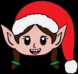 Elf Girl print art