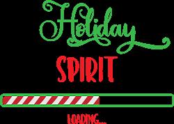 Holiday Spirit Loading print art