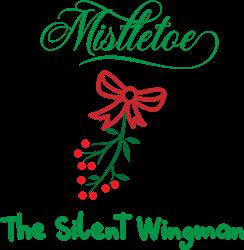 Mistletoe print art