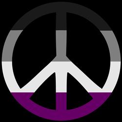 Asexual Pride Peace print art