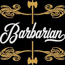 Barbarian print art