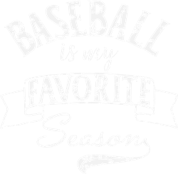 Baseball Season print art