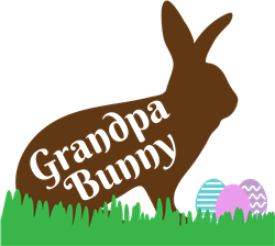 Grandpa Bunny print art