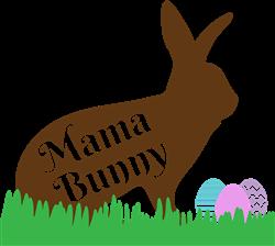 Mama Bunny print art