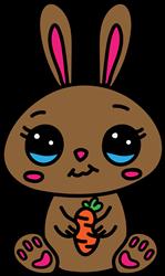 Brown Bunny print art