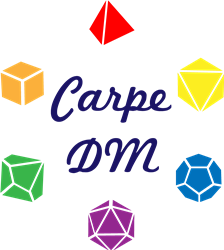 Carpe DM Dice print art