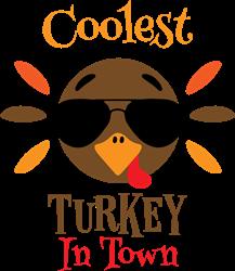 Coolest Turkey print art