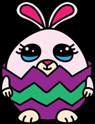 Cracked Egg Bunny print art