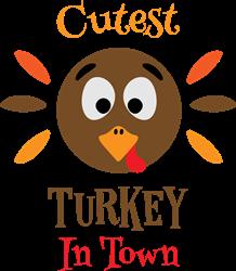 Cutest Turkey print art