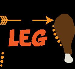 A Leg Man print art