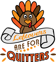 Leftovers For Quitters print art