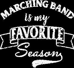 Marching Band Season White Grunge print art