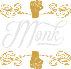 Monk print art