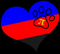 Polyamory Pride Heart print art