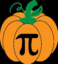 Pumpkin Pi print art