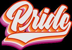 Retro  Lesbian Pride print art