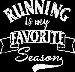 Running Season White Grunge print art