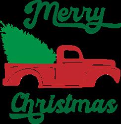 Christmas Truck print art