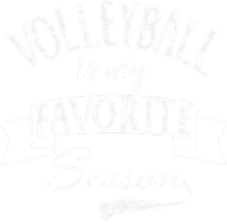 Volleyball Season White Grunge print art
