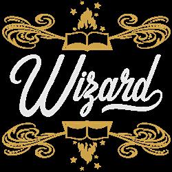 Wizard print art