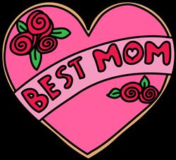 Best Mom print art