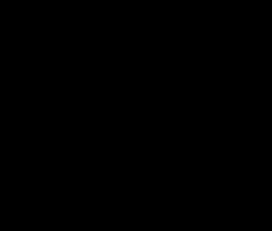 Monogram Split M print art