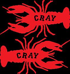 Cray Cray Crayfish print art