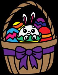 Easter Basket print art