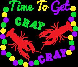 Time To Get Cray Cray print art