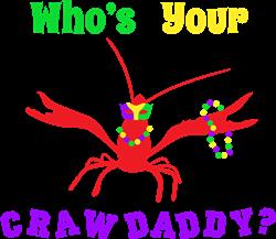 Whos Your Crawdaddy print art
