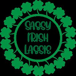 Sassy Irish Lassie print art