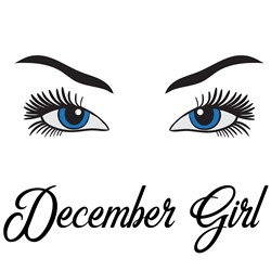 Eyes Open December Girl print art