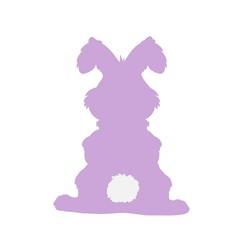 Fluffy Ear Flop Bunny print art