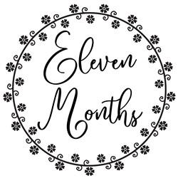 baby milestones 1 eleven months print art