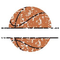 Distressed Basketball Name Drop print art