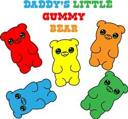 Daddys Gummy Bear print art