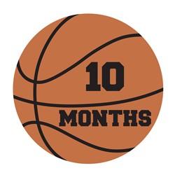 10 Months Basketball print art
