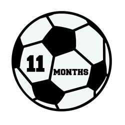 11 Months Soccer print art